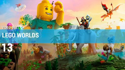 Jaquette de LEGO Worlds : Un vaste univers redondant