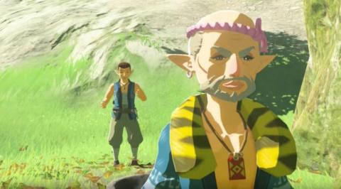 The Legend of Zelda : Breath of the Wild - L'architecte du village (spoil mineur)