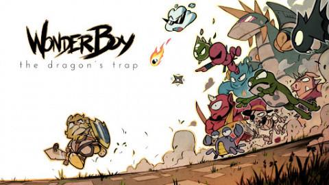 Wonder Boy : The Dragon's Trap sur PS4