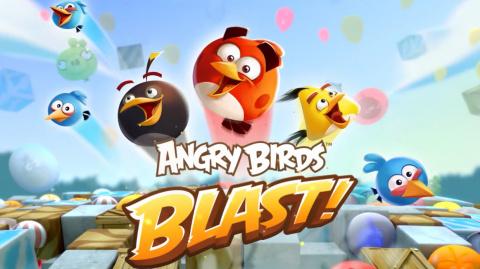 Jaquette de Angry Birds Blast : l'Angry Birds de trop