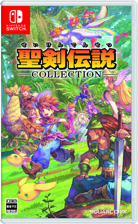 Collection of Mana sur Switch