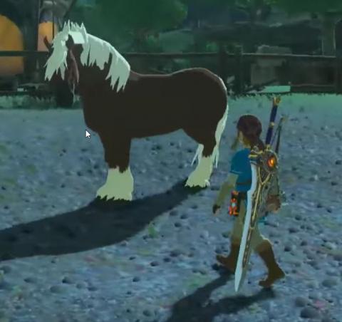 Tir à cheval