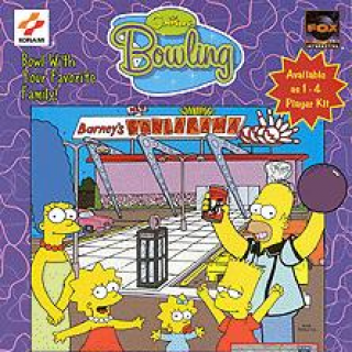 The Simpsons Bowling sur Arcade
