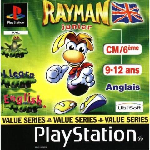 Rayman Junior CM/6ème sur PS1
