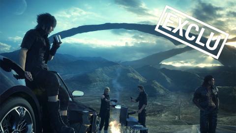 Jaquette de Final Fantasy XV : Les secrets de développement (version intégrale)