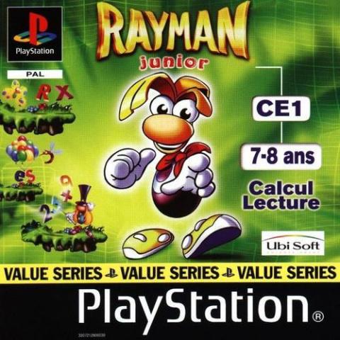 Rayman Junior CE1 sur PS1