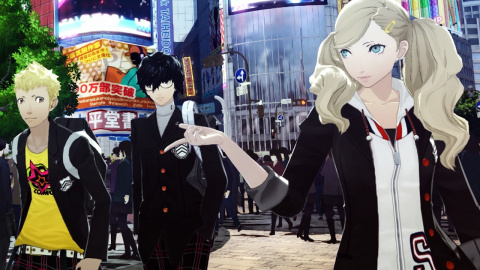 Jaquette de Persona 5 : Un excellent J-RPG dans un Tokyo contemporain