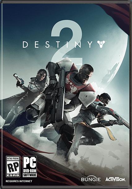 Jaquette de Destiny 2