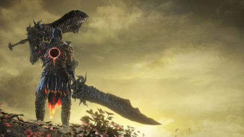 Jaquette de Dark Souls III : The Ringed City - Le chevalier de la marque sombre