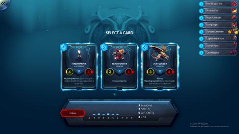 Duelyst : La brillante union entre jeu de cartes et tactical sur PC
