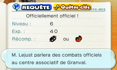 Officiellement officiel !