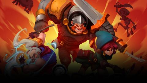 Jaquette de Has-Been Heroes : Un roguelike exigeant et décomplexé sur PC