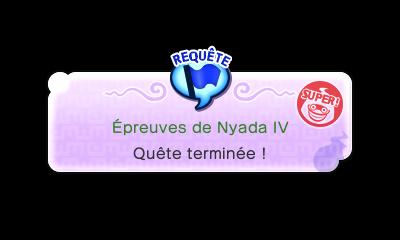 Épreuves de Nyada IV