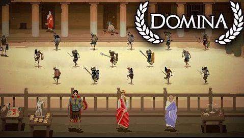 Domina : Gladiateurs et musique techno pour l'OVNI indé' du jour !