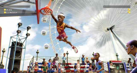 EA annonce NBA Playgrounds sur PS4, Xbox One, Switch et PC