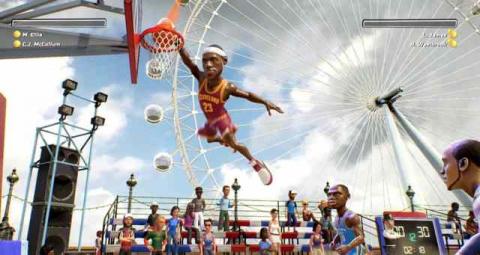 NBA Playgrounds : L'héritier de NBA Jam annoncé