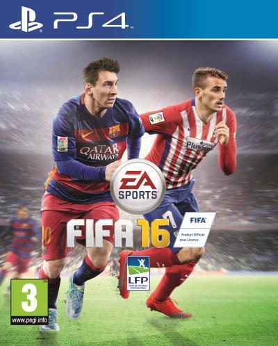FIFA 16 sur PS4