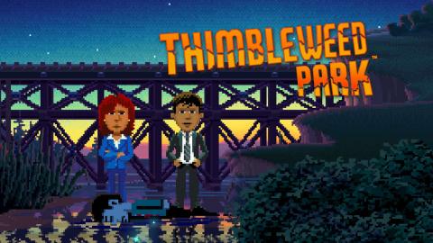 Jaquette de Thimbleweed Park : L'hommage réussi aux grands classiques de Lucasarts sur PC