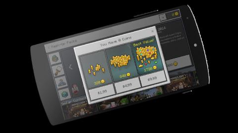 Un marketplace pour Minecraft sur Windows 10 et mobile