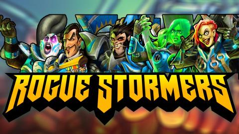 Jaquette de Rogue Stormers, le run'n'gun mou