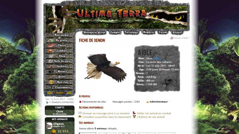 Jaquette de La chasse aux œufs revient dans Ultima Terra