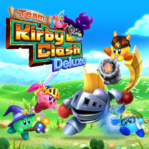 Team Kirby Clash Deluxe sur 3DS