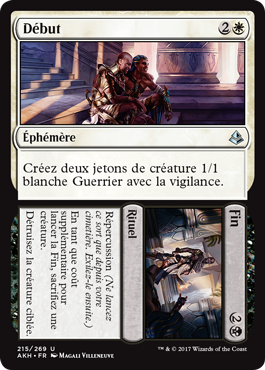 Nouvelle carte Magic en exclu Amonketh : Début//Fin