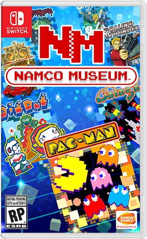 NAMCO MUSEUM sur Switch
