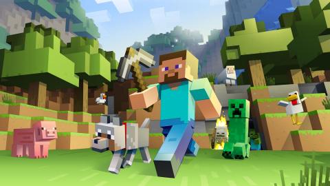 Jaquette de Minecraft atterrit sur Switch