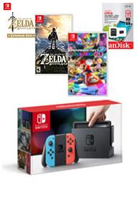 Nintendo Switch : Un bundle incluant Mario Kart 8 Deluxe et The Legend of Zelda : Breath of the Wild apparaît sur le site de Gamestop