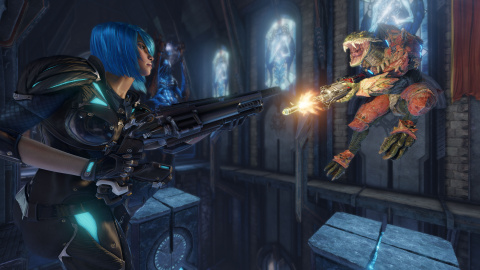 Quake Champions - Galena, nouvelle héroïne de Quake Champions
