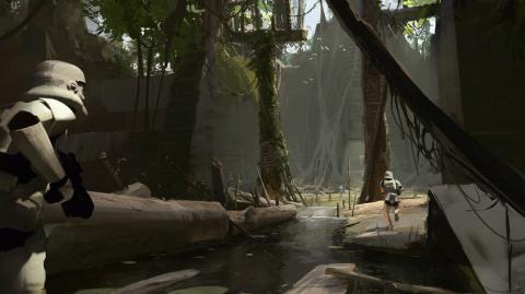 Star Wars Battlefront II : les nombreuses planètes du multi se montrent en images