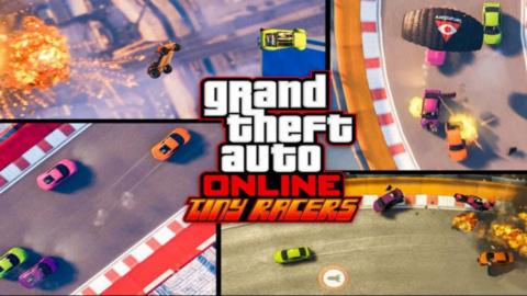 Jaquette de GTA Online se met à Micromachines avec le mode Tiny Racers