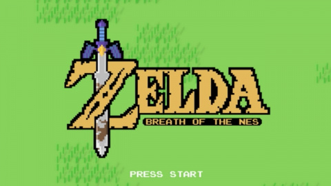 The Legend of Zelda - Breath of the Wild... version 2D 8 bit !