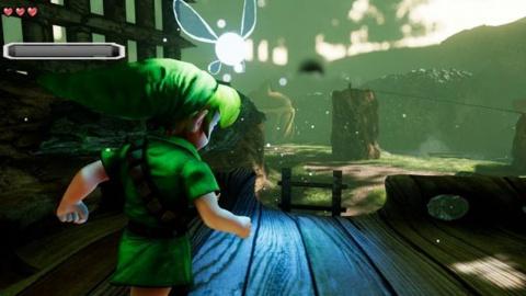 Jaquette de Zelda : Ocarina of Time - La forêt Kokiri recréée sous Unreal Engine 4