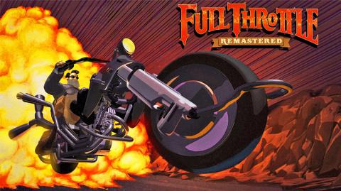 Jaquette de Full Throttle Remastered : un vieux coucou qui en a dans le ventre