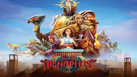 Jaquette de Le MMO Runescape prépare la sortie de l'extension La cité d'or de Ménaphos