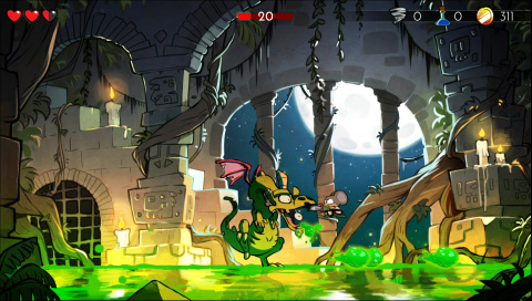 Wonder Boy : The Dragon's Trap - Un remake d'amour et de pixels