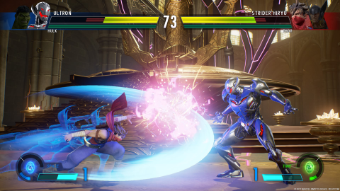 Marvel Vs. Capcom Infinite, un premier contact peu enthousiasmant