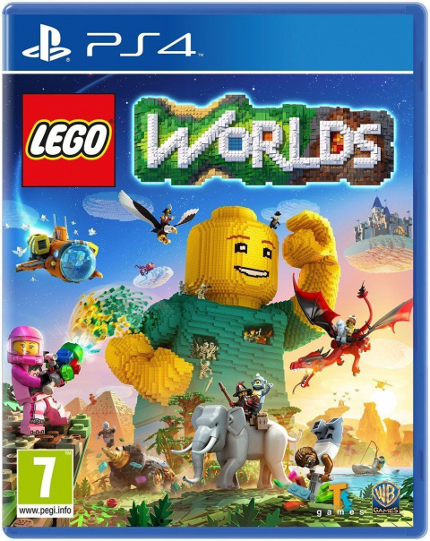 lego worlds sur playstation 4. Black Bedroom Furniture Sets. Home Design Ideas