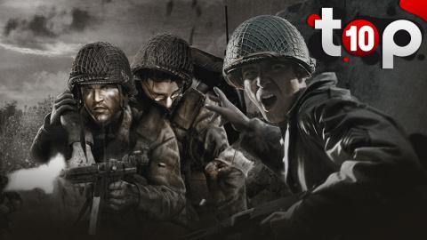TOP 10 des meilleurs jeux sur la seconde guerre mondiale