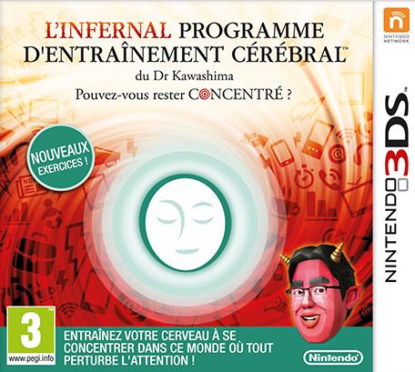 L'Infernal Programme d'Entraînement Cérébral du Dr Kawashima : Pouvez-Vous Rester Concentré ? sur 3DS
