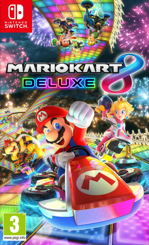 Mario Kart 8 Deluxe sur Switch
