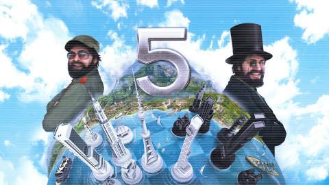 Jaquette de Tropico 5 revient dans une version complète