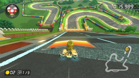 GBA Circuit Mario