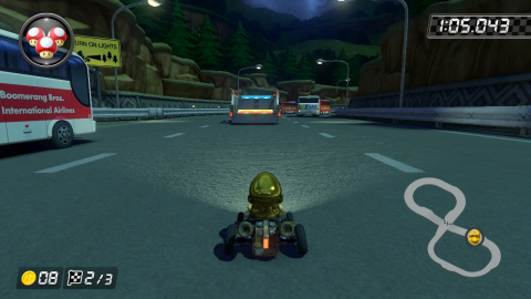N64 Autoroute Toad Wiki Mario Kart 8 Jeuxvideo Com