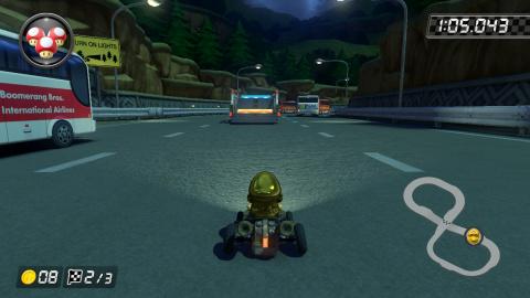 N64 Autoroute Toad Wiki Mario Kart 8 Jeuxvideo Com