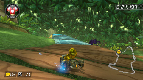 3DS Forêt tropicale DK
