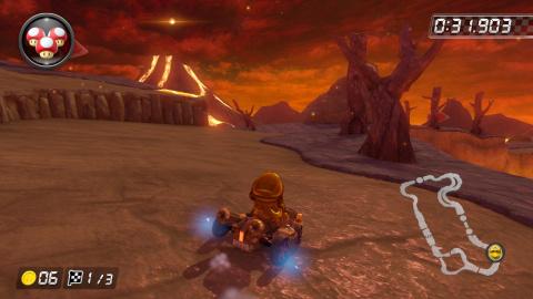 Wii Volcan grondant