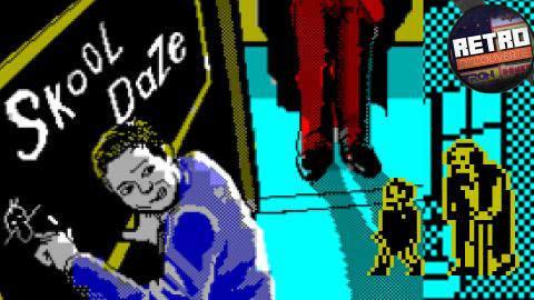 Rétro Découverte : Retour sur Skool daze, un classique oublié !